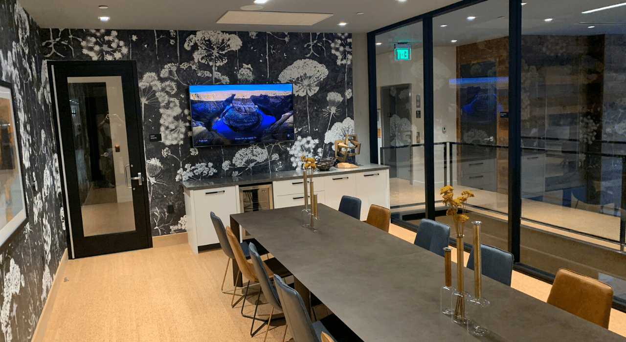 conference room audio and video